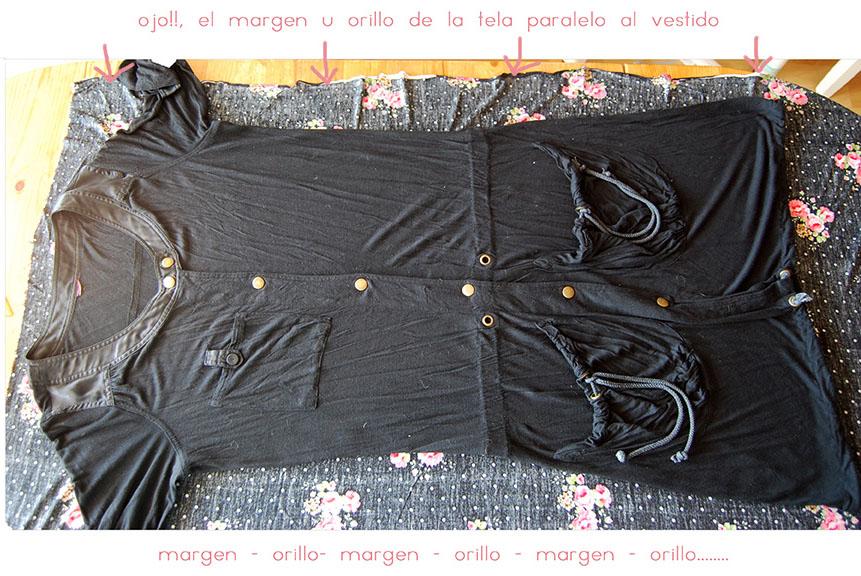 copiar y coser un vestido a partir de uno propio 001