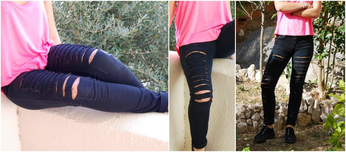 tejanos vaqueros jeans destrozados 004